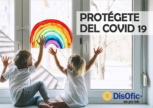 Protégete del Covid 19